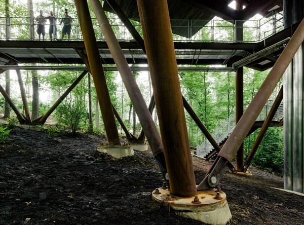 Mithun diseña la casa de los Boy Scouts en la Reserva Summit Bechtel diariodesign