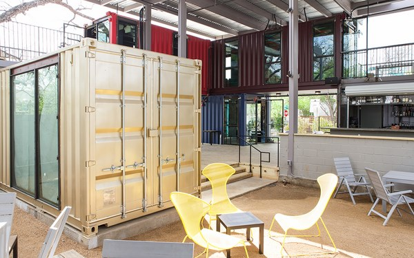 8 austin container bar