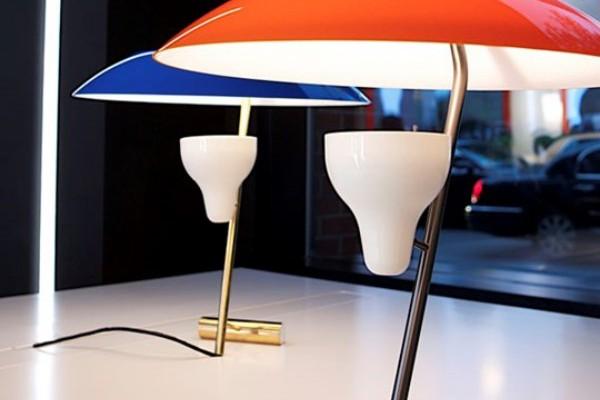 Los diseños del visionario Gino Sarfatti actualizados por Flos, en Barcelona.