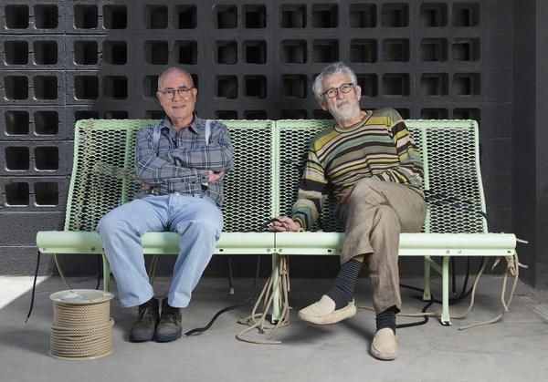 Lluís Clotet y Oscar Tusquets banco catalano 2