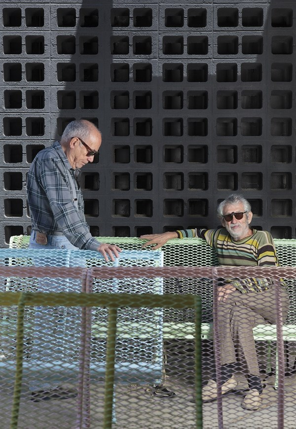 Lluís Clotet y Oscar Tusquets banco catalano