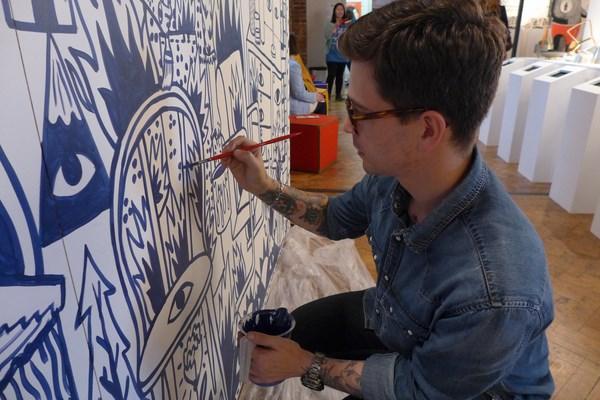 Ricardo Cavolo Painting