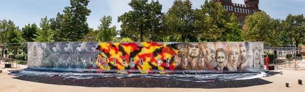 arquitectura efímera bcn reset diariodesign mur de la ciutadella