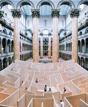 BIG diseña un laberinto panóptico en Washington diariodesing