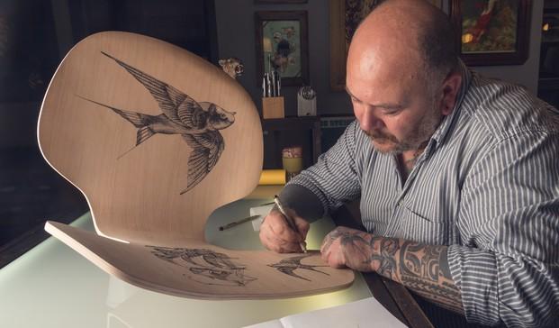 2 grand prix tatuaje fritz hansen