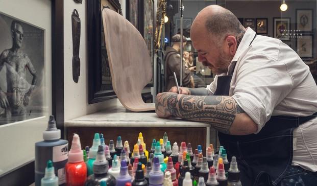 4 grand prix tatuaje fritz hansen