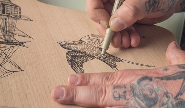 8 grand prix tatuaje fritz hansen