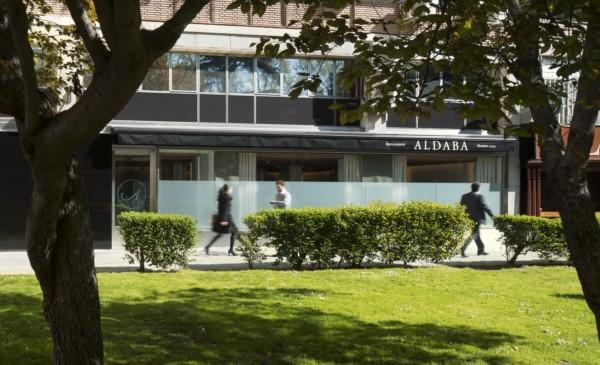 restaurante aldaba en madrid de isabel lopez vilalta diariodesign