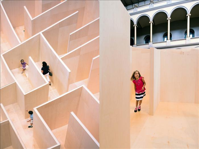 BIG ha diseñado para el National Building Museum de Washington un sorprendente laberinto diariodesign