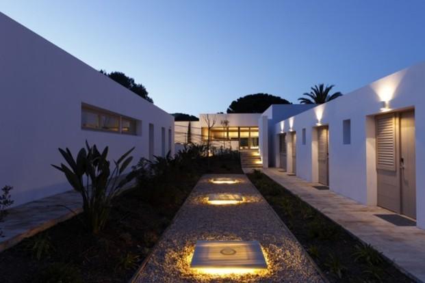 Hostal Empùries acceso al spa diariodesign