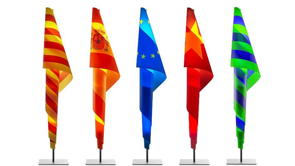 Metalarte Alta Costura Flags