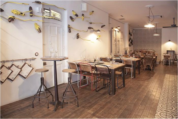 Pau interiorismo blog trece restaurante vintage en el for Decoracion vintage valencia