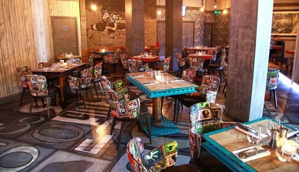 steak of the art interior harbourside en bristol Revolution Reading Los mejores bares y restaurantes diariodesign