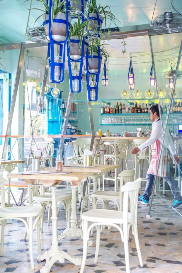 restaurante Ojala en Madrid de Andrés Jaque