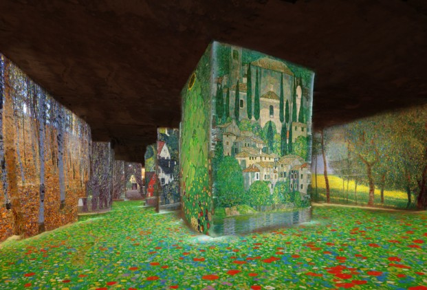 carrieres_de_lumieres_simulation_klimt_nature_copyright_culturespaces