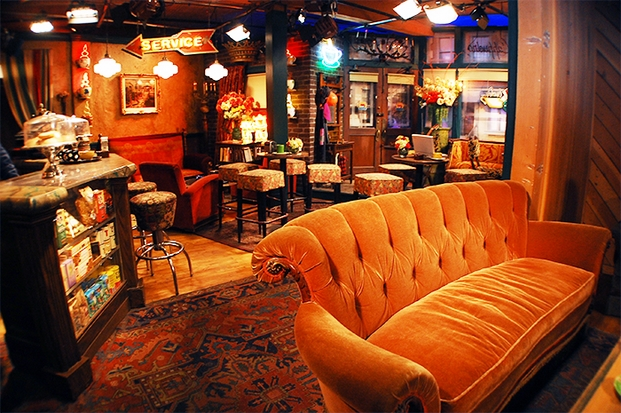 2 central perk friends