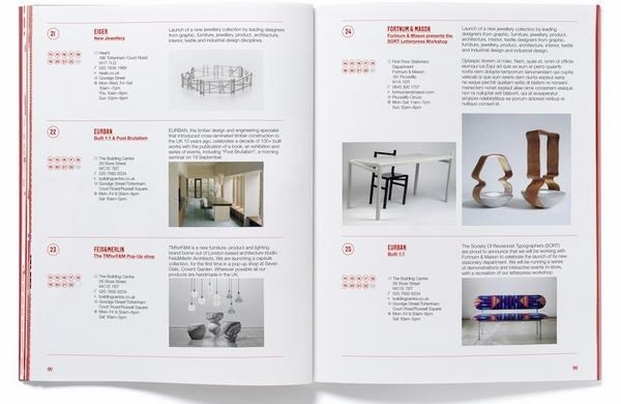 23 London design Festival Guide 2014