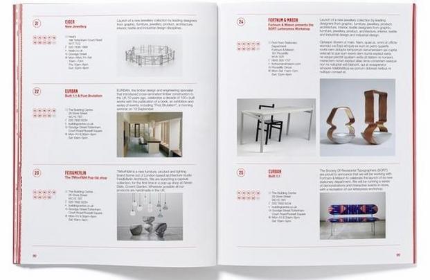 23 London design Festival Guide 2014