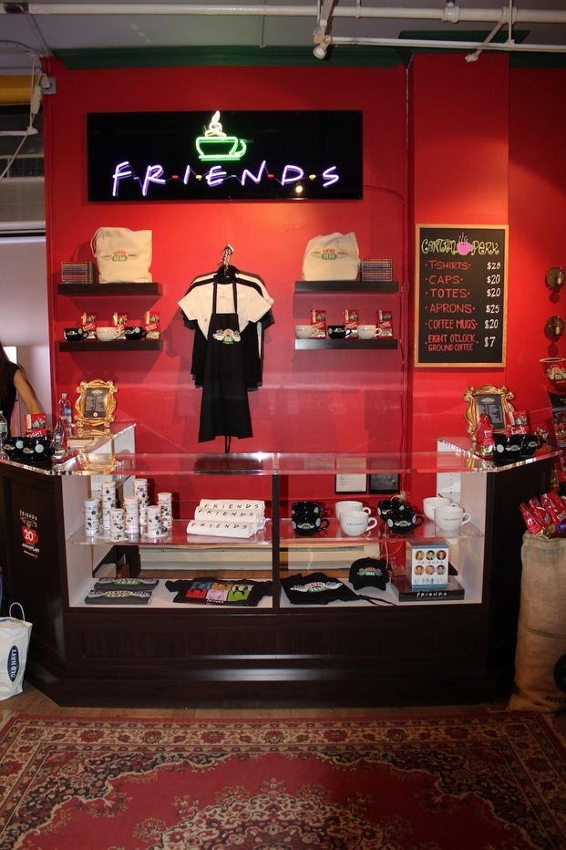 9 central perk pop-up coffee
