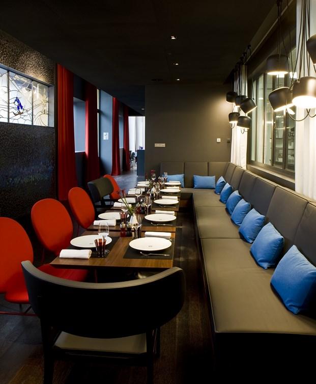 restaurante en el Hotel Molitor en paris de Jean Philippe Nuel diariodesign
