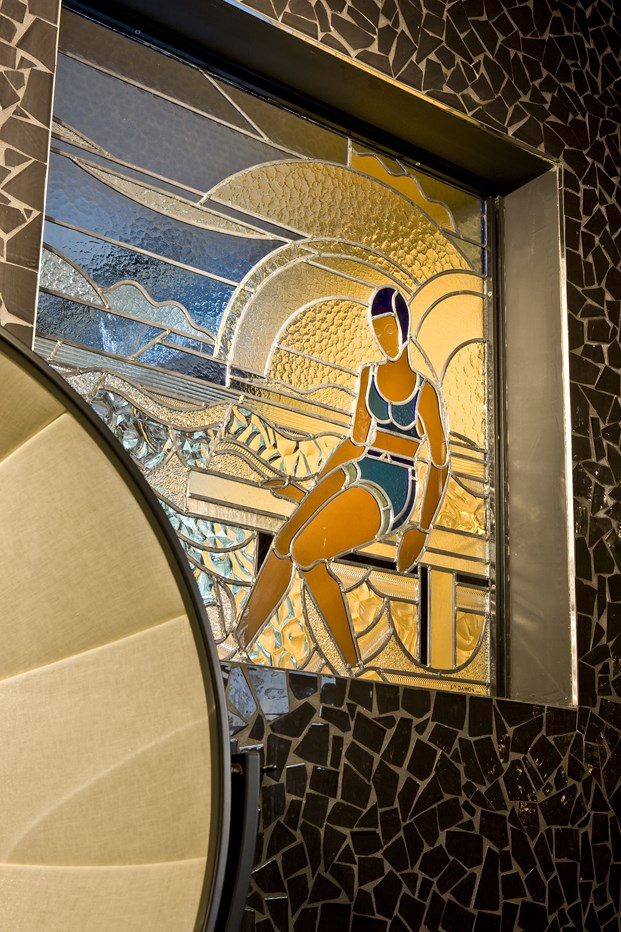 art deco en el Hotel Molitor en paris de Jean Philippe Nuel diariodesign