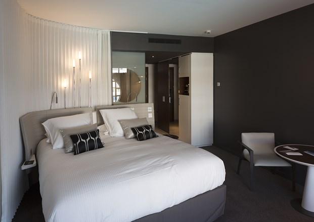 habitacion Hotel Molitor en paris de Jean Philippe Nuel diariodesign