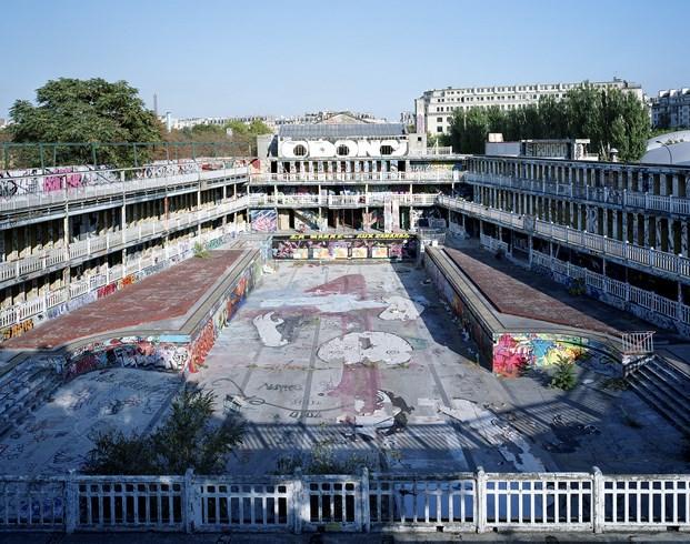 grafitis en Hotel Molitor en paris de Jean Philippe Nuel diariodesign