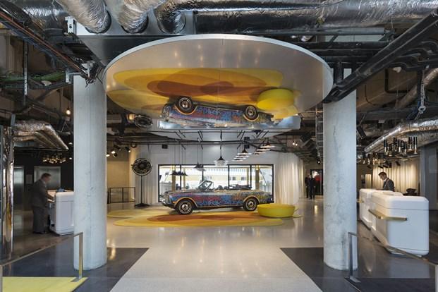 nuevos espacios en el Hotel Molitor en paris de Jean Philippe Nuel diariodesign