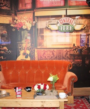 central perk pop up coffee