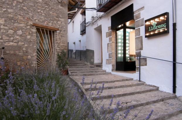 entrada peluquería en castellón Llorenç de estudio vitale