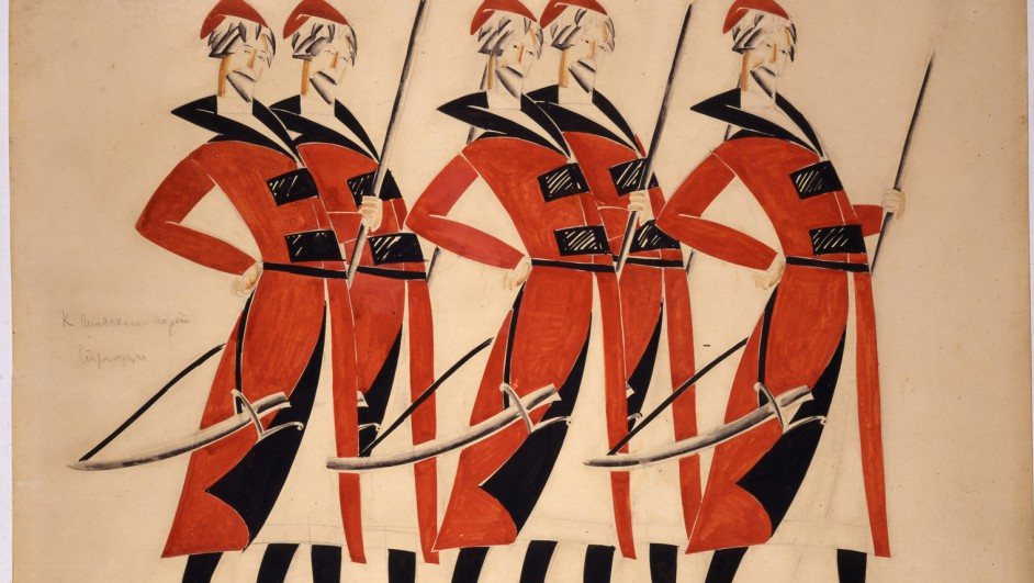 1._Vladimir_Tatlin_Costume_design_for_Life_for_the_Tsar_1913-1915__A._A._Bakhrushin_State_Central_Theatre_Museum