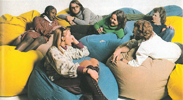 50 años Habitat 1973 Sagbag diariodesign