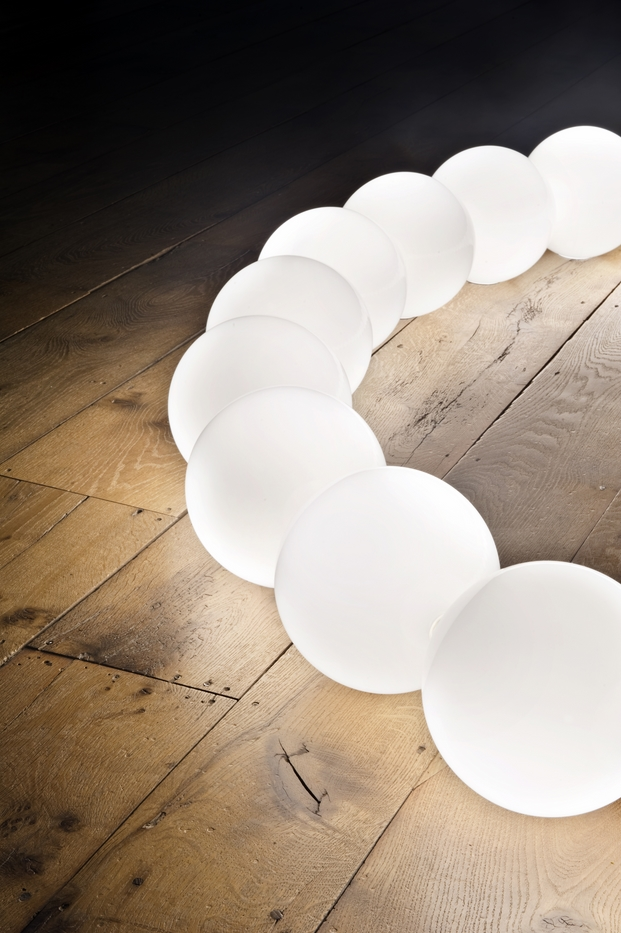 Flos in collaboration with Michael Anastassiades at the V&A for London Design week. 19 September 2014