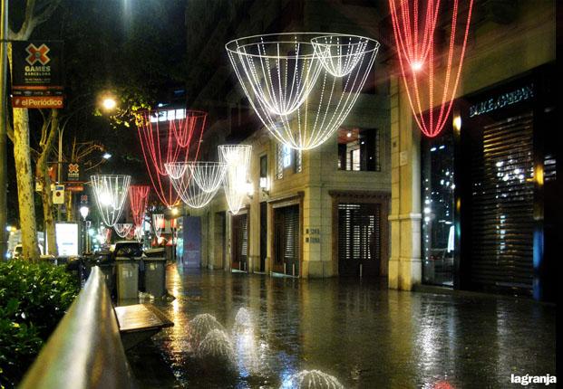 iluminacion paseo de gracia 2014 2