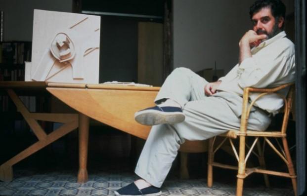 Enric Miralles, imagen cortesía de la Fundación Enric Miralles.