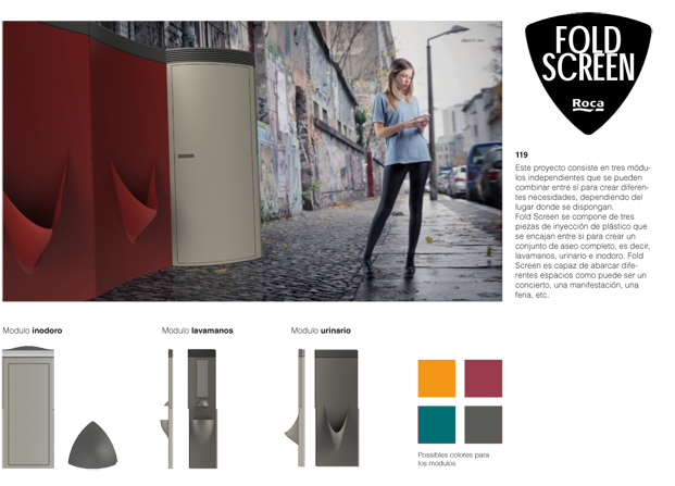 Finalista 119 Roca One Day Design Challenge