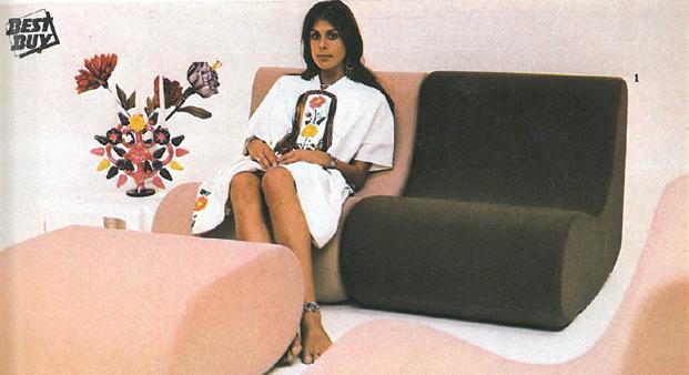 Mobiliario de 1973 diariodesign
