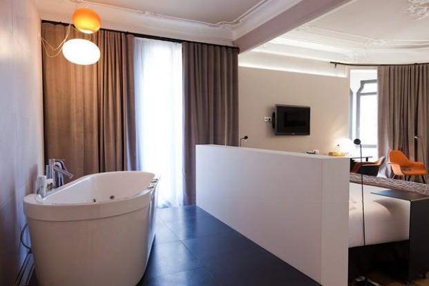 Hotel Alexandra, de Borrell Arquitectura y Pensando en blanco