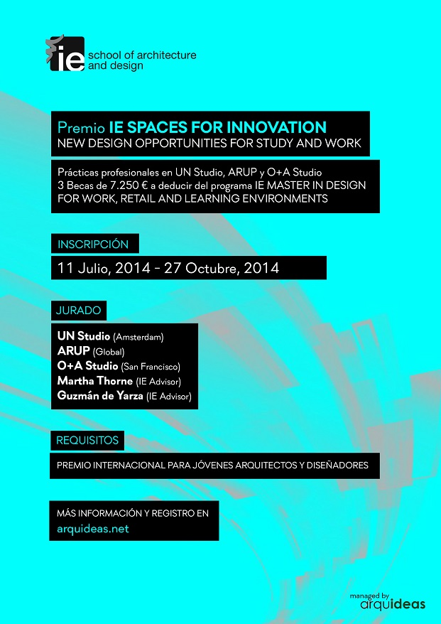 Premio IE Spaces for Innovation Póster