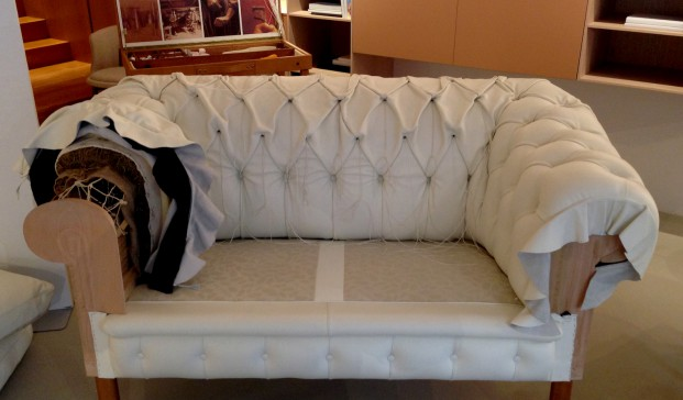 La inteligencia de las manos o c mo tapizar un sof ch ster Como forrar un sofa viejo