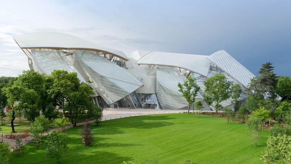 The foundation Louis Vuitton apertura