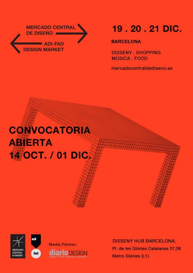 covocatoria DesignMarket 2014 diariodesign