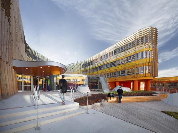 Vienna University of Economics and Business world architecture festival 2014 diariodesign