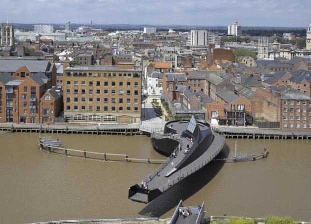 Scale Lane Bridge world architecture festival 2014 diariodesign