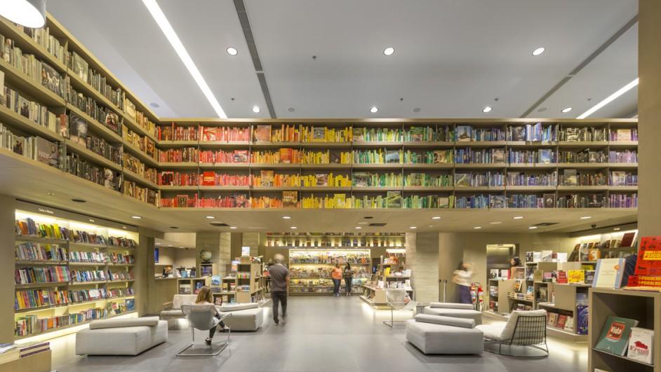 Saraiva bookstore una tienda de libros como plaza abierta a r o de janeiro - Almacen de libreria ...