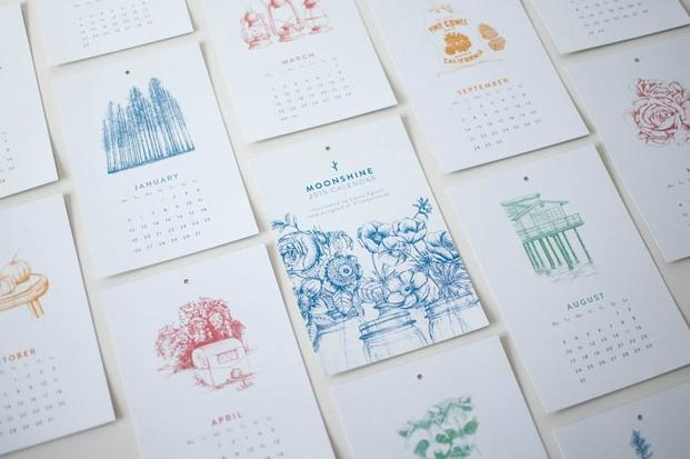 4 moonshine calendar