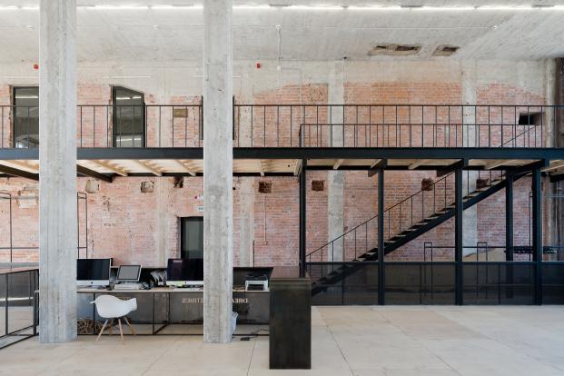 oficinas dream industries de archiproba en la sede central de telegrafos de moscu diariodesign