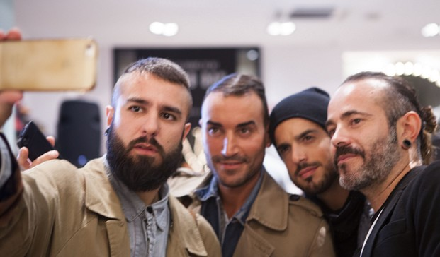Be Concept Store opening Selfie