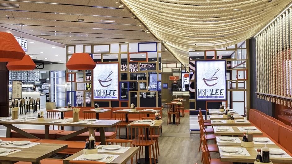 Restaurante mister lee cuarto interior recrea en el corte - El corte ingles puertas de interior ...