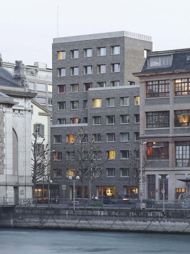 Cities Connection Project Coulouvreniere (Geneva) Charles Pictet Architecte